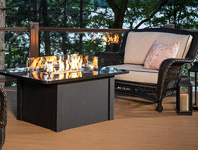 Outdoor Living - firetables, patio heaters, fire pits